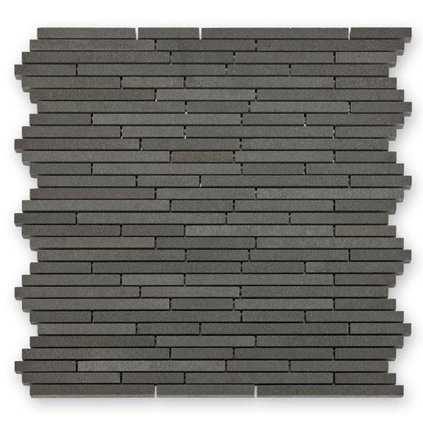 Bärwolf Sticks ash grey BA-BM-10003 Basalt Mosaik Vario 30x30 matt