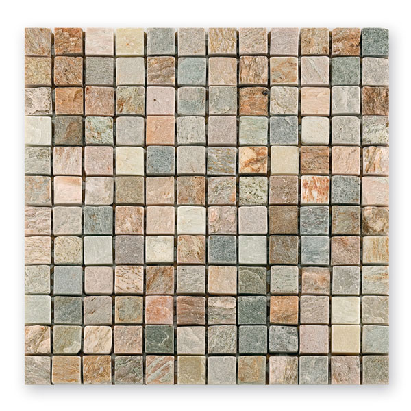 Bärwolf Square light rustic BA-CM-7110 Metamorphit Mosaik 2,3x2,3 30x30 matt