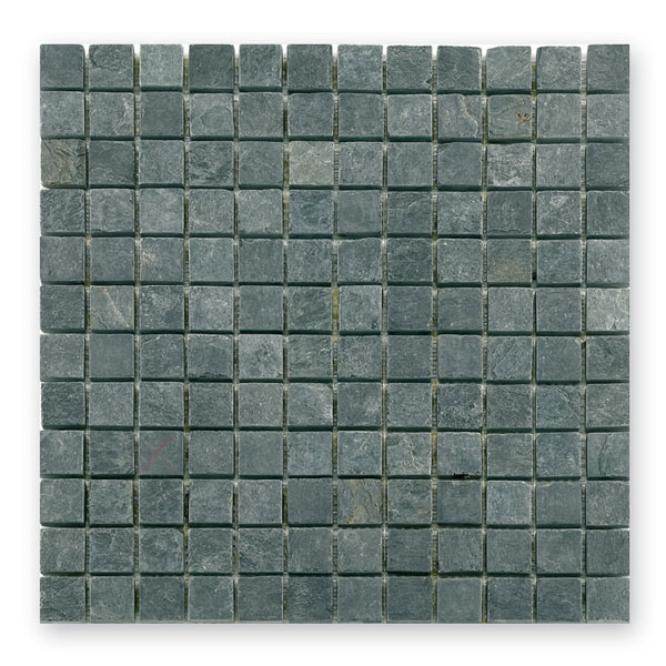 Bärwolf Square dark grey BA-CM-7114 Schiefer Mosaik 2,3x2,3 30x30 matt
