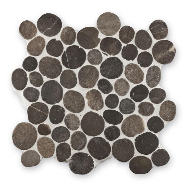 Bärwolf Pebble grey BA-PMG-10003 Kiesel Mosaik Vario 30x30 matt R10