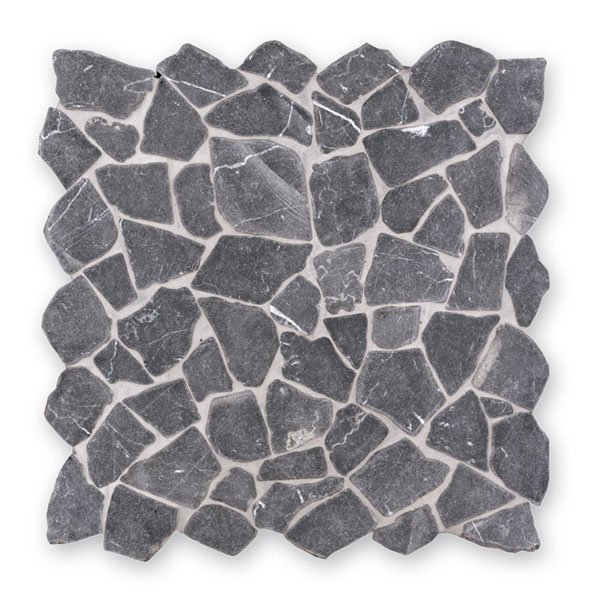 Bärwolf Crush grey BA-RM-0003 Marmor Mosaik Vario 30x30 matt R10