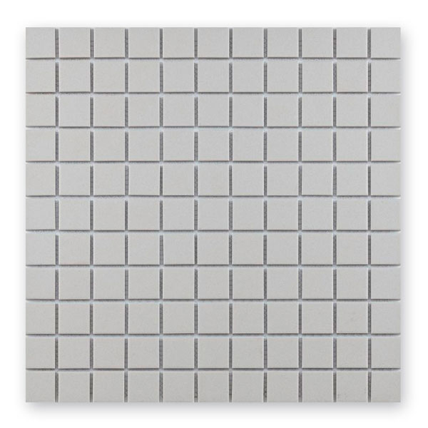 Bärwolf Grip white BA-UG-2010 Keramik Mosaik 2,5x2,5 30x30 unglasiert/matt R10