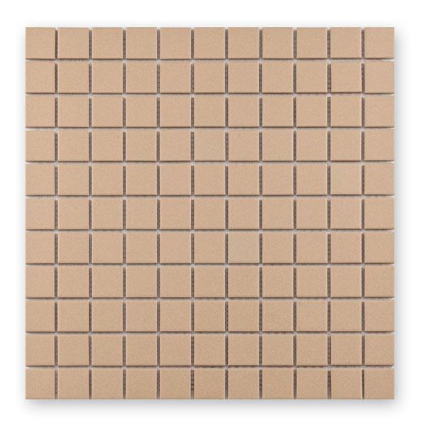 Bärwolf Grip light beige BA-UG-2011 Keramik Mosaik 2,5x2,5 30x30 unglasiert/matt R10
