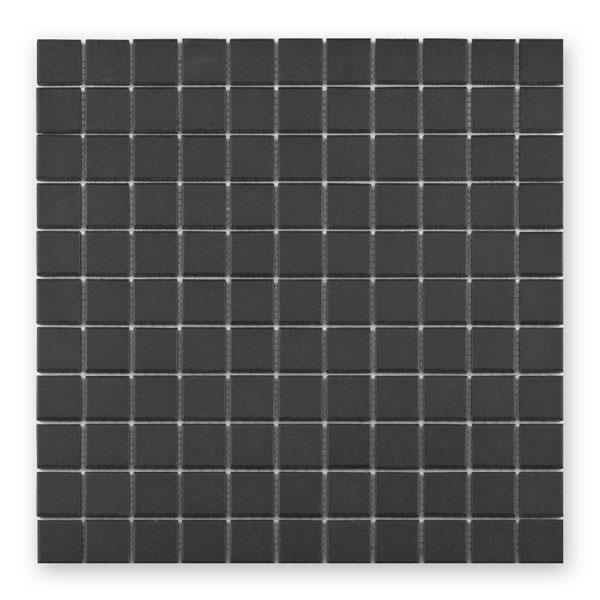 Bärwolf Grip anthrazit BA-UG-2017 Keramik Mosaik 2,5x2,5 30x30 unglasiert/matt R10