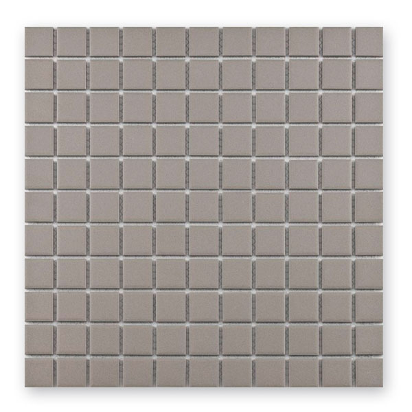 Bärwolf Grip light grey BA-UG-2029 Keramik Mosaik 2,5x2,5 30x30 unglasiert/matt R10
