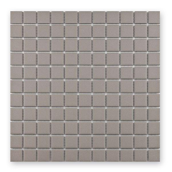 Bärwolf Grip light grey BA-UG-2029 Keramik Mosaik 2,5x2,5 30x30 unglasiert/matt R10