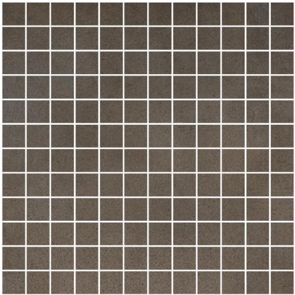 Cisa Concreta Fango CIS-0161146 Mosaik 2,5x2,5 30x30 matt R9