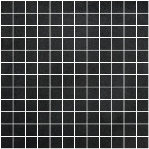 Cisa Concreta Nero CIS-0161166 Mosaik 2,5x2,5 30x30 matt R9