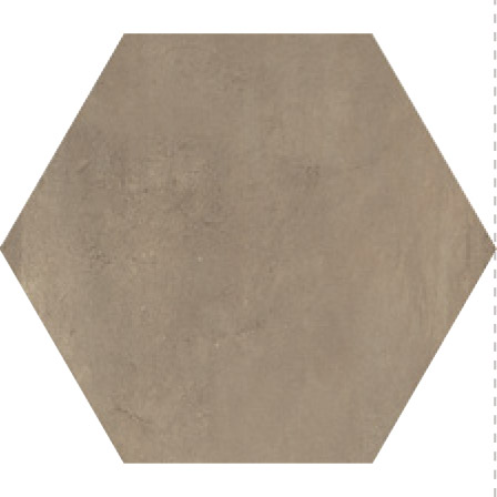 Savoia Domus  Noce SA-S40138ESA Bodenfliese 40x40 matt Betonoptik Hexagon