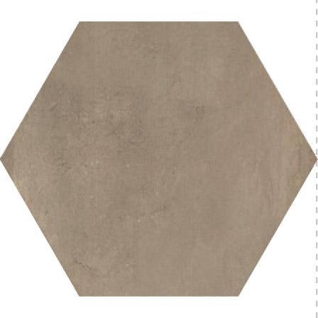 Savoia  Domus  Noce SA-S40138ESAA Bodenfliese 40x40 matt Betonoptik Hexagon