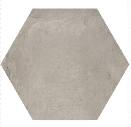 Savoia Domus  Grigio SA-S40133ESA Bodenfliese 40x40 matt Betonoptik Hexagon