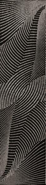 La Fabbrica 5th Avenue Black Chic L694 Dekor 60x15 Lappato