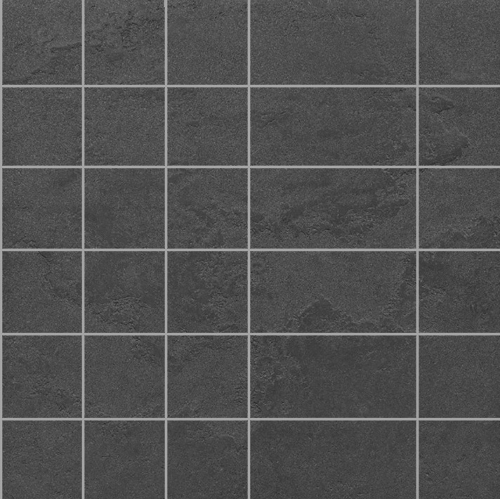 La Fabbrica Pietra Lavica Fuligo 9323 Mosaik 32,6x32,6 Lappato