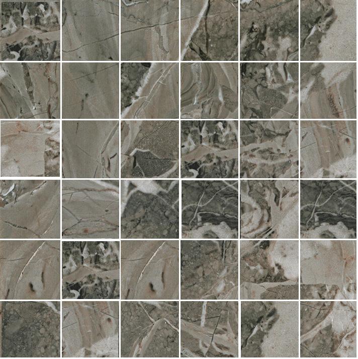 La Fabbrica Smart Taupe SMARM3R1 Mosaik 33,3x33,3 Natural