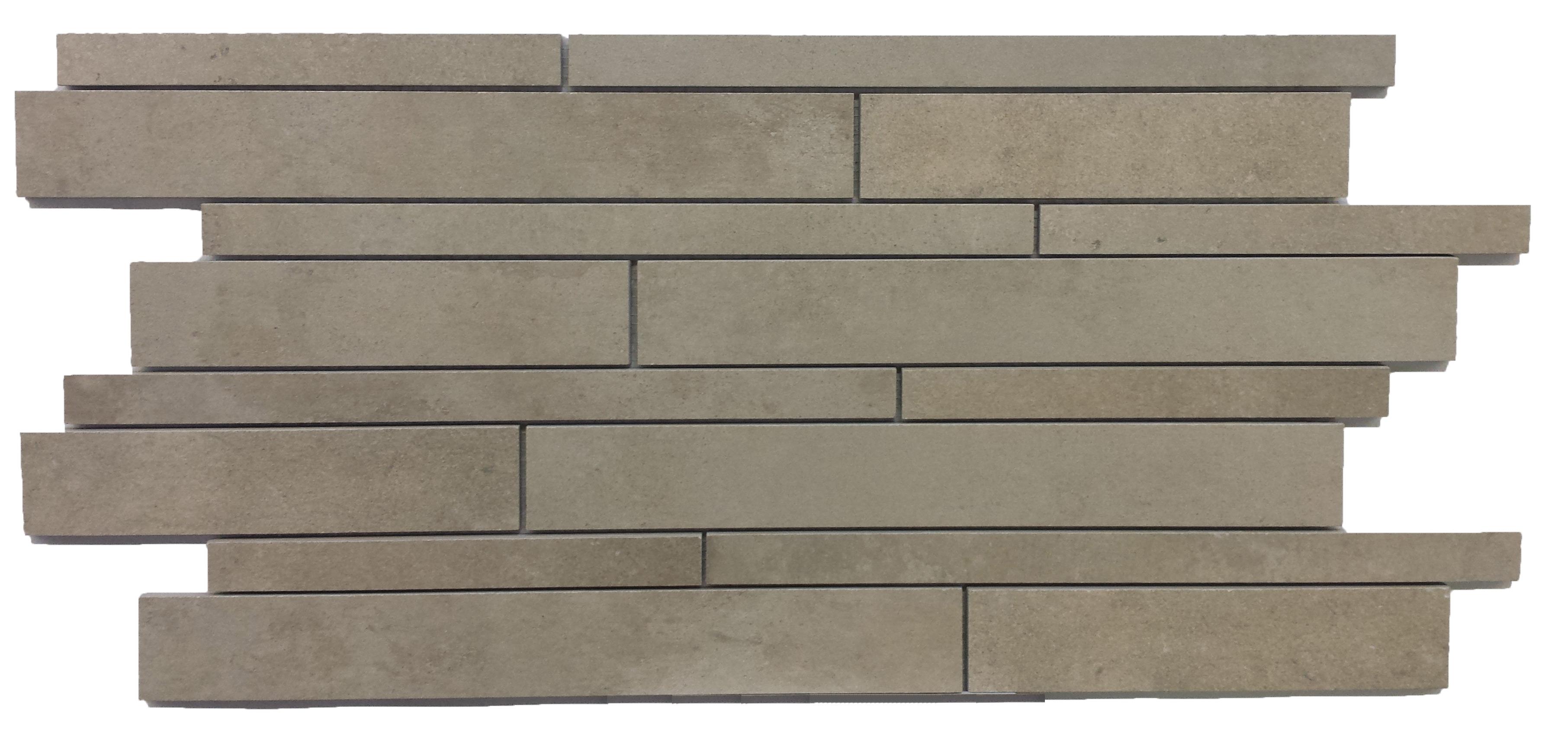 Bien Buxy Grey  Muretto 30x68 matt