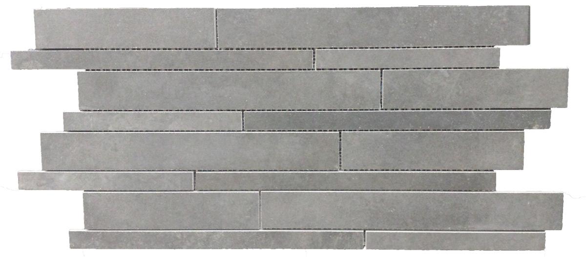 Castelvetro Fusion Antracite Muretto 30x60