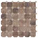 Cisa Ceramiche Royal Marble Noce CC0170169 Mosaik 33,3x33,3 Lappato
