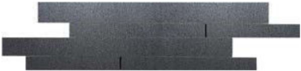 La Fabbrica Fusion Titanium L578 Muretto 49x16,2 Lappato