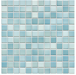 Jasba Fresh light blue-mix JA-41207 H Mosaik 2x2 32x32 glänzend