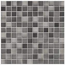 Jasba Fresh medium gray-mix JA-41204 H Mosaik 2x2 32x32 glänzend