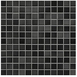 Jasba Fresh midnight black-mix JA-41205 H Mosaik 2x2 32x32 glänzend