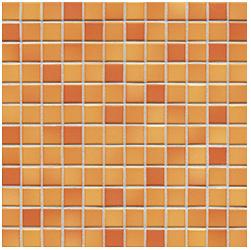 Jasba Frech Secura sunset orange-mix JA-41311 H Mosaik 2x2 32x32 natural R10