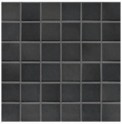 Jasba Frech Secura midnight black-mix JA-41405 H Mosaik 5x5 32x32 natural R10