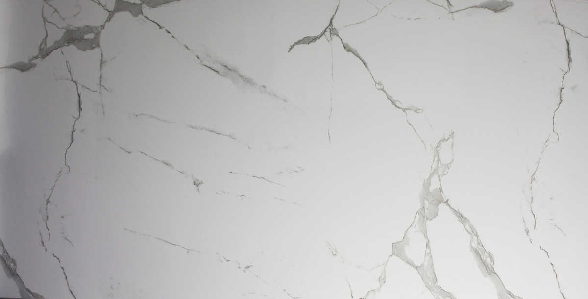 Cinque Bergamo Boden-/Wandfliese B612001 Weiß-grau 60x120 poliert