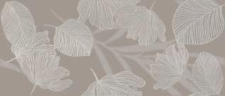 Ricchetti exo taupe RI-0505162 Dekorfliese 32x75 glänzend