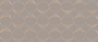 Ricchetti exo taupe RI-0505168 Dekorfliese 32x75 glänzend