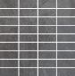 Villeroy & Boch Bernina anthrazit VB-2411 RT2M Mosaik 3,3x7,5 30x30 matt R9 A