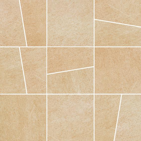 Villeroy & Boch Bernina beige VB-2415 RT1M Dekor Mosaik 30x30 matt R9