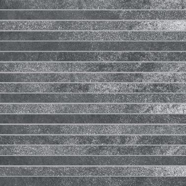 Villeroy & Boch Fire and Ice steel grey VB-2827 MT20  Stabmosaik 1,5x30 30x30 matt R9