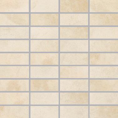 Villeroy & Boch Fire and Ice platinum beige VB-2411 MT30  Mosaik 3,5x7,5 30x30 matt R9 A