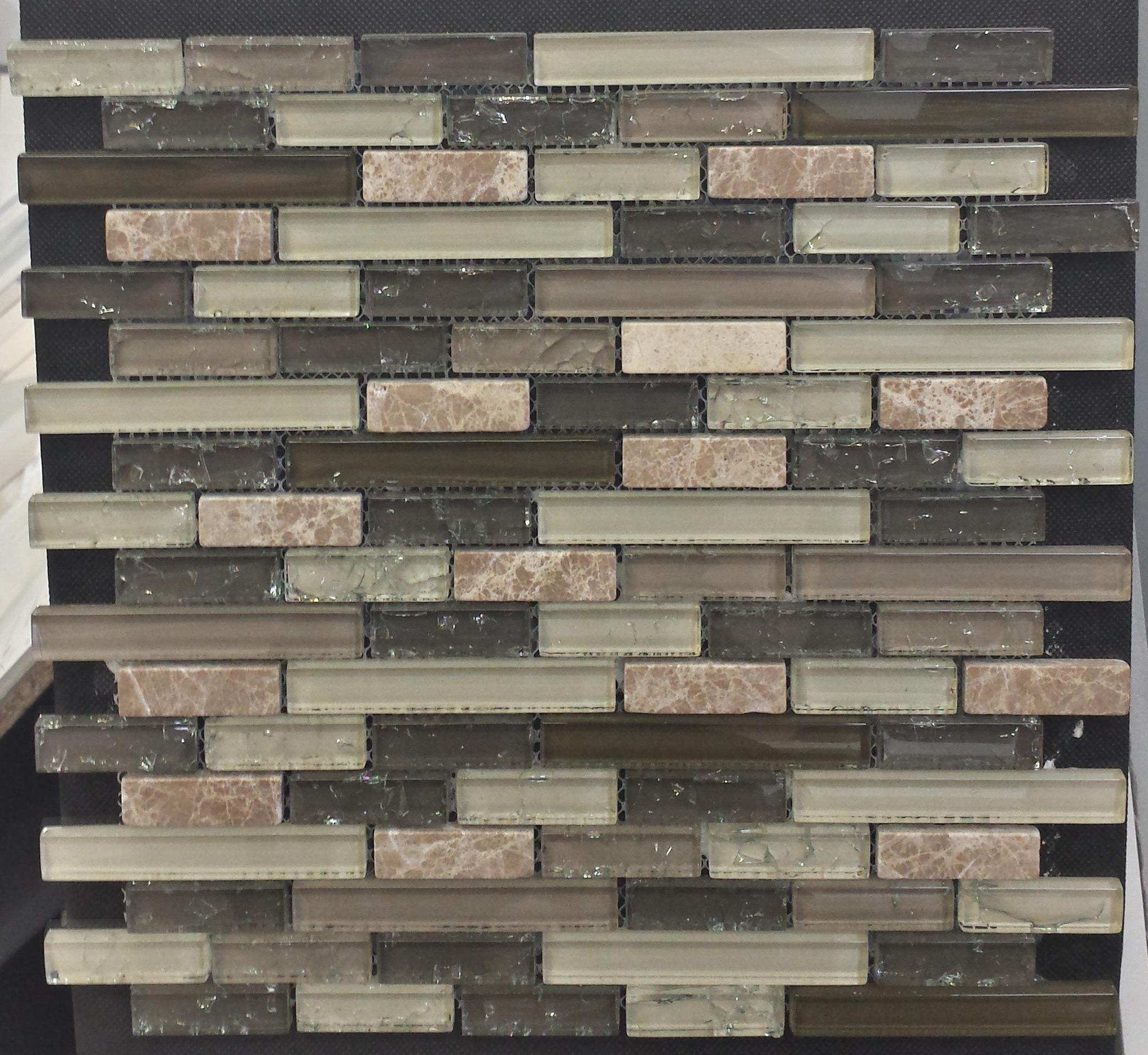 Cinque Glana Anthrazit/Braun be-PMLK251 Mosaik 30x30
