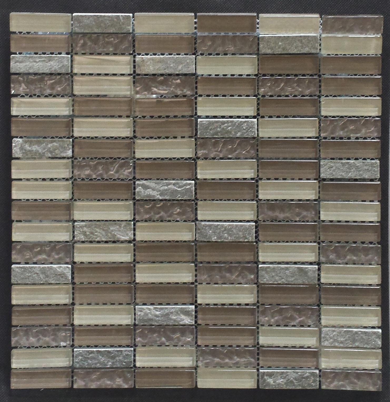 Cinque Glana Beige/Grau be-PM154878 Mosaik 30x30