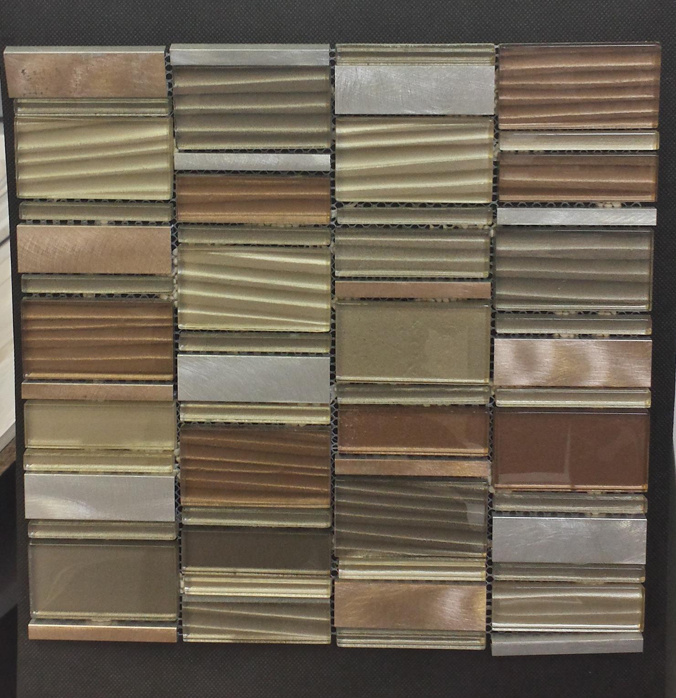 Cinque Glana Braun/Beige be-PMH05 Mosaik 30x30
