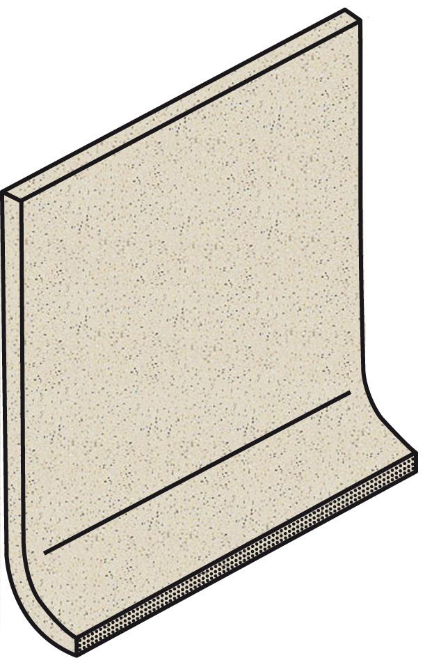Villeroy und Boch Granifloor white 2072 911H 0 Hohlkehlsockel 10x10 matt