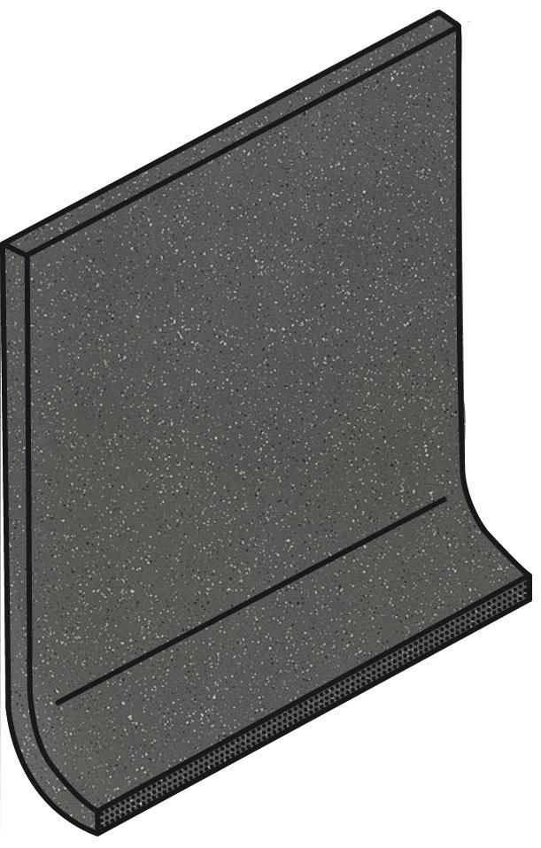 Villeroy und Boch Granifloor dark grey 2072 913D 0 Hohlkehlsockel 10x10 matt