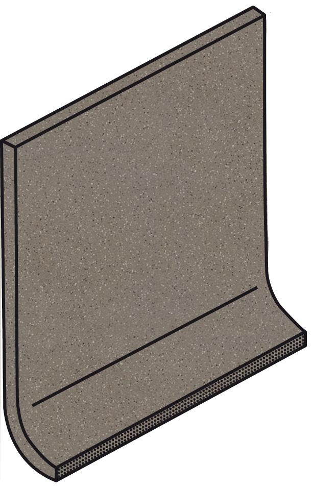 Villeroy und Boch Granifloor dark brown 2072 919D 0 Hohlkehlsockel 10x10 matt