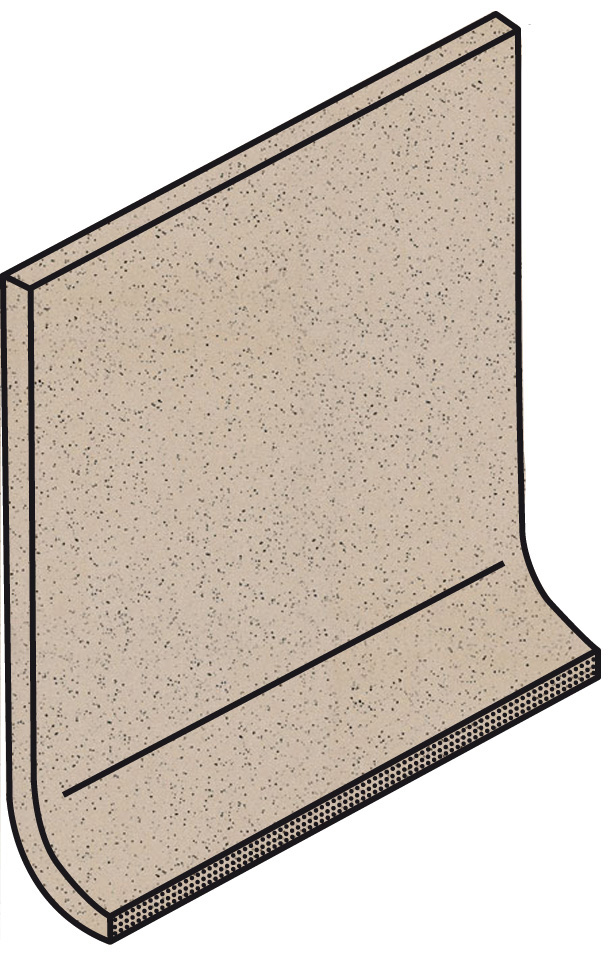 Villeroy und Boch Granifloor light brown 2072 919H 0 Hohlkehlsockel 10x10 matt