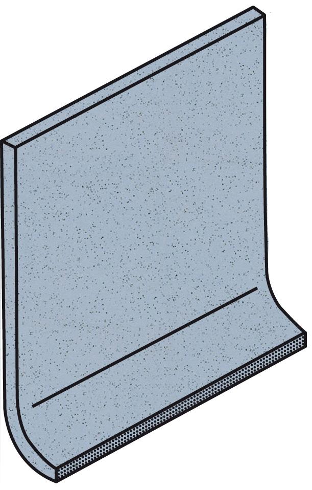 Villeroy und Boch Granifloor pastel blue 2072 921H 0 Hohlkehlsockel 10x10 matt