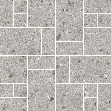 Villeroy und Boch Aberdeen opal grey 2075 SB60 8 Dekor 30x30 matt