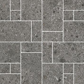 Villeroy und Boch Aberdeen slate grey 2075 SB90 8 Dekor 30x30 matt