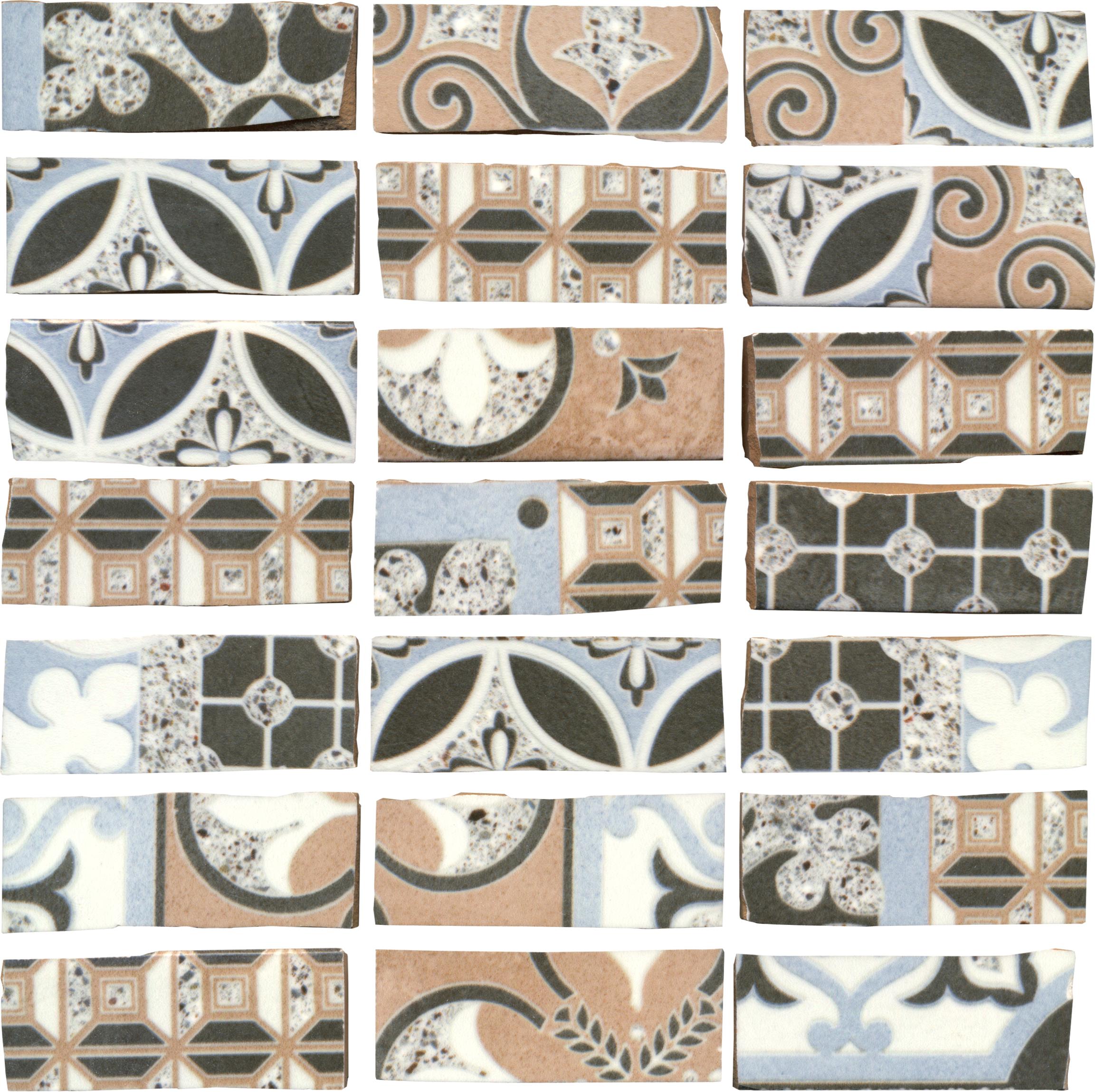 DEL CONCA Abbazie AB DELn-20ab00mnd Notre Dame Mosaik 20x20 matt
