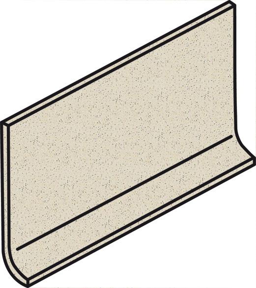 Villeroy und Boch Granifloor white 2495 911H 0 Hohlkehlsockel 10x20 matt