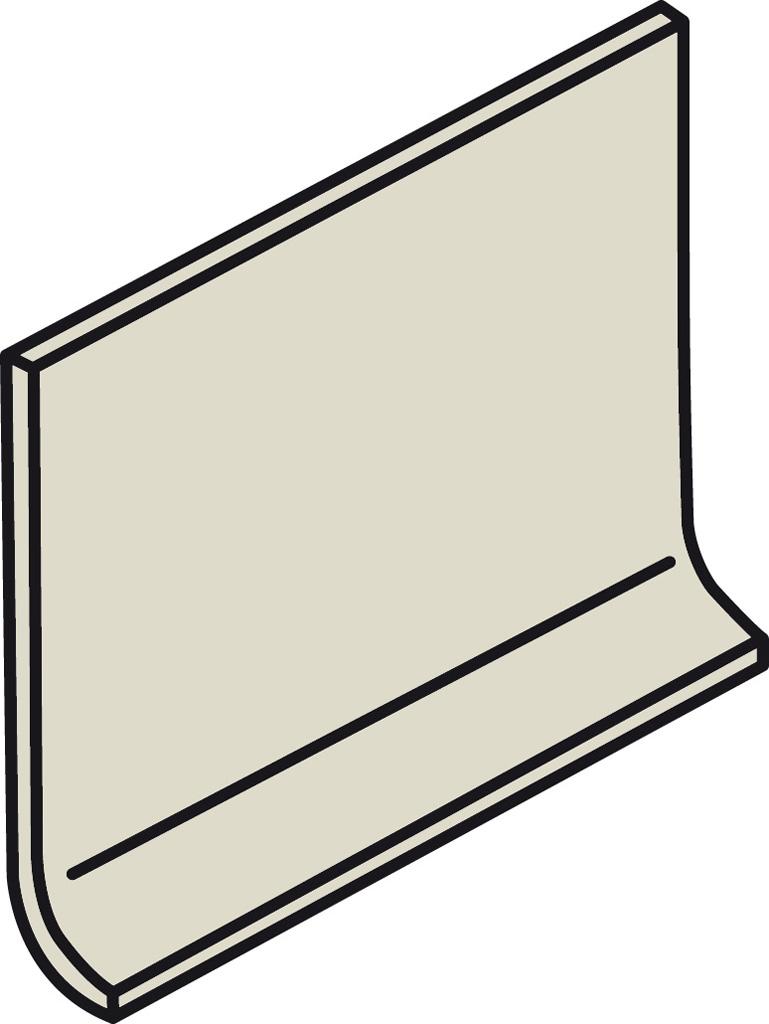 Villeroy und Boch Pro Architectura weiß 2498 PN80 0 Hohlkehlsockel 10x15 matt