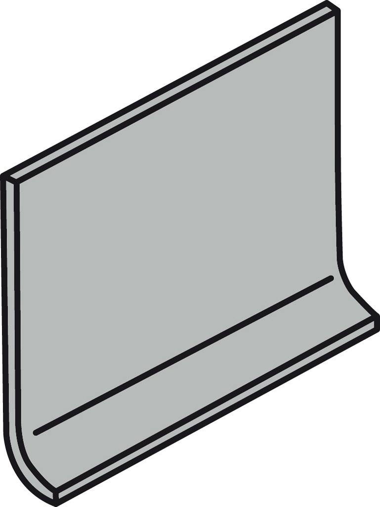 Villeroy und Boch Pro Architectura grau 25% 2498 PN81 0 Hohlkehlsockel 10x15 matt