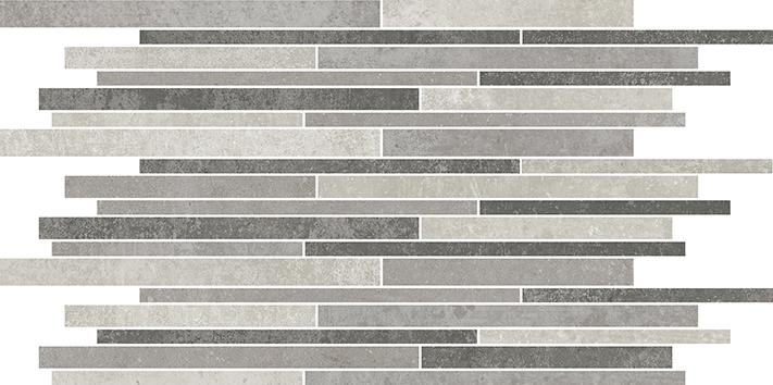 Villeroy und Boch Atlanta grey multicolor  2656 AL69 8 Dekor 30x60 matt