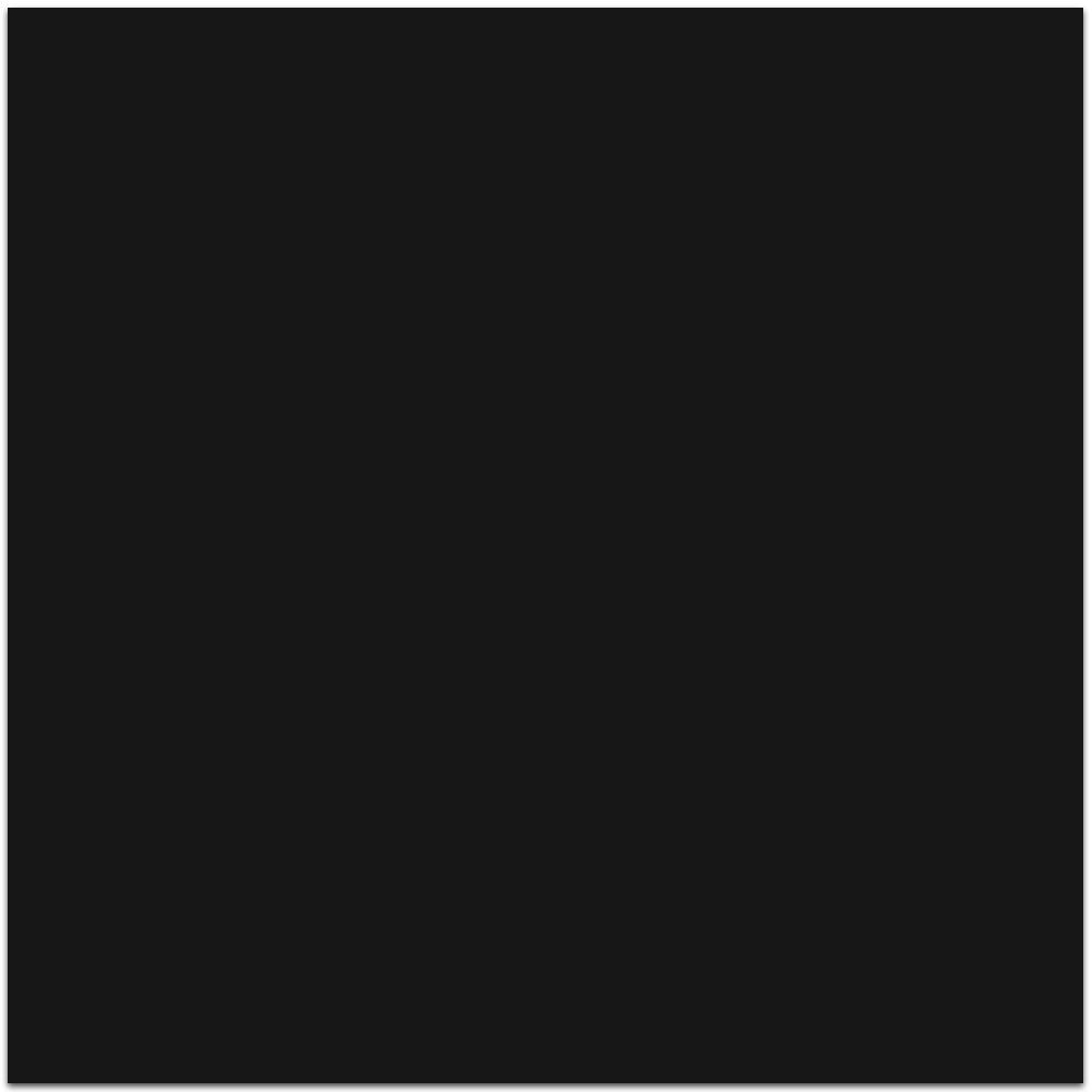 Tau Ceramica Grum Black Boden-/Wandfliese Black 120x120 Poliert